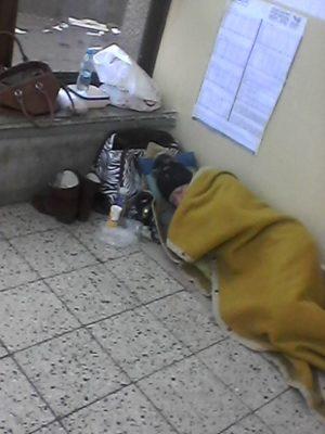 Bezdmovci na stanici